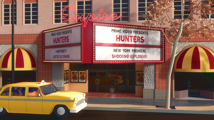 Highland Park Transforms into 1970's NYC for Amazon Prime Video 'Hunters' Premiere Event